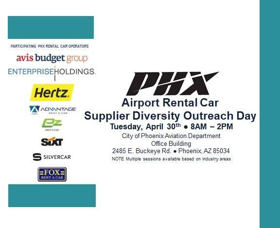 2019 PHX Rental Car Supplier Diversity Outreach Day