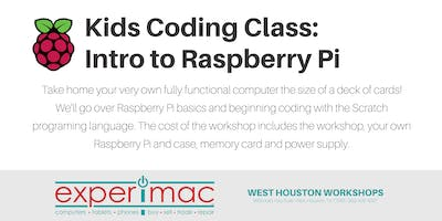 Kids Coding Class : Intro to  Raspberry Pi - Experimac West Houston