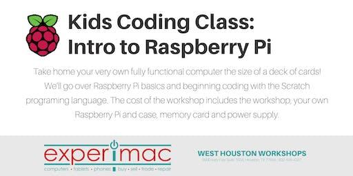 Kids Coding Class : Intro to  Raspberry Pi - Experimac West Houston
