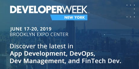 DeveloperWeek New York 2019 tickets