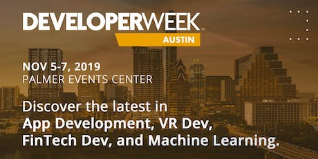 DeveloperWeek Austin 2019 tickets