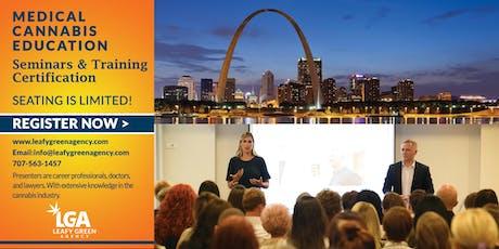Medical Marijuana Budtender and Brand Ambassador Sales Training - St. Louis tickets