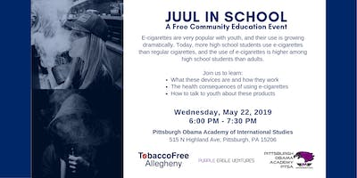 JUUL in School - A Free Community Education Event