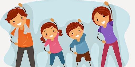 Family Fun & Fitness, Yoga Style!