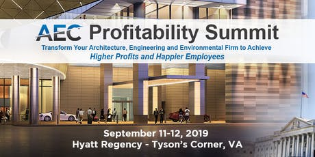 AEC Profitability Summit 2019 tickets