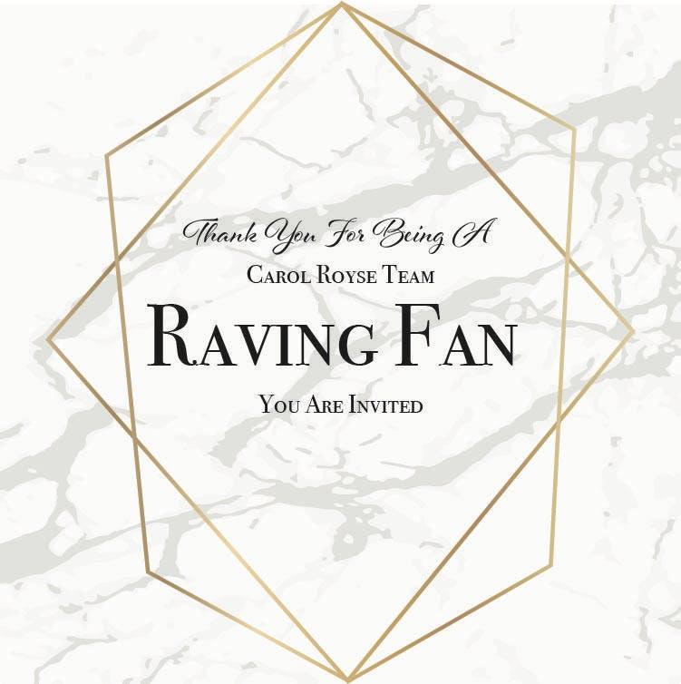 RSVP - Carol Royse Raving Fan Complimentary Appreciation Dinner