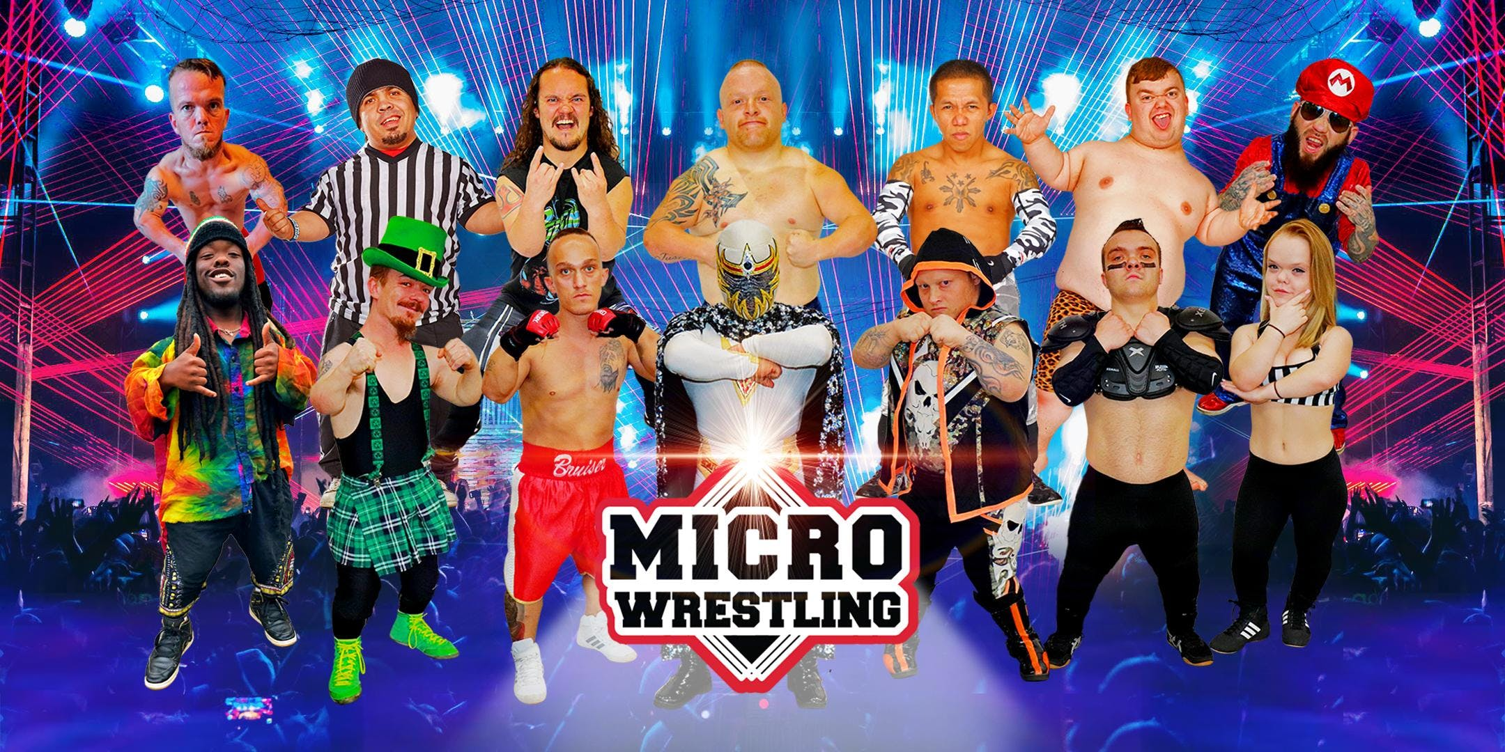 All-Ages Micro Wrestling at the Microtorium of Pigeon Forge!