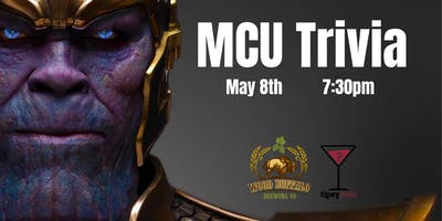 Marvel Trivia - May 8, 7:30pm - Wood Buffalo Brewing