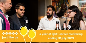 Last day of the Just Like Us LGBT+ Mentoring Programme...