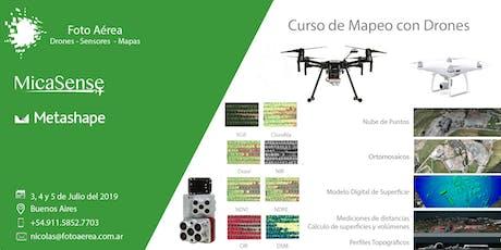 Curso de Mapeo con Drones en Buenos Aires entradas
