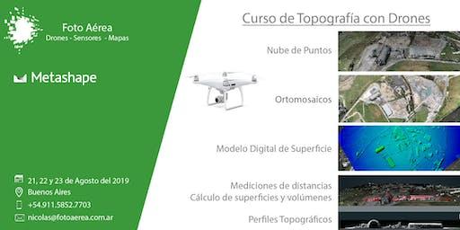 Topografía con Drones - MetaShape