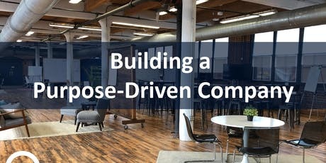 Building a Purpose-Driven Company | Workshop tickets