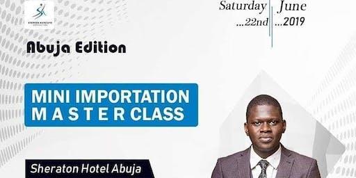 Mini Importation Master Class Abuja