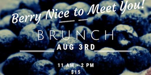Berry Nice to Meet You Brunch