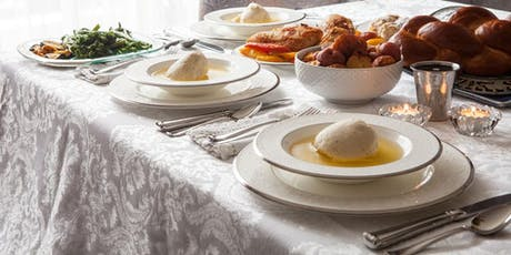 Kosher Shabbat Day Lunch Chabad biglietti