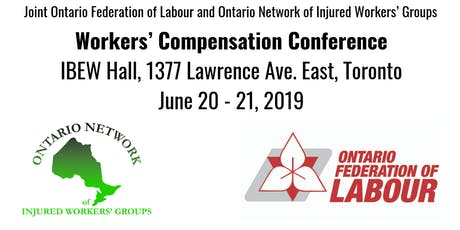 Joint OFL and ONIWG Workers' Compensation Conference tickets