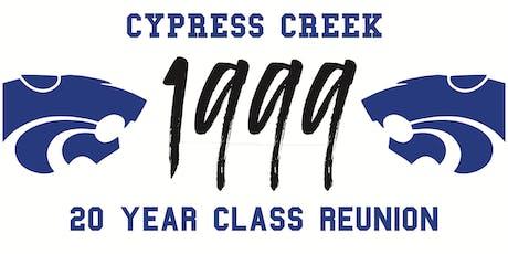 Cypress Creek Class of 1999 Reunion tickets