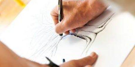 Drawing For Terrified Beginners - Art Class Toronto tickets