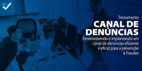Canal de Denúncias [São Paulo] tickets