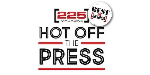 2019 Best of 225 Hot Off the Press Award Celebration
