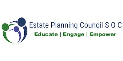 November 5th  -  Estate Planning Council of South Orange County