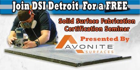 DSI Detroit Avonite Fabrication Seminar tickets