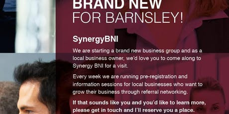 Synergy BNI - Business Networking at it's best tickets