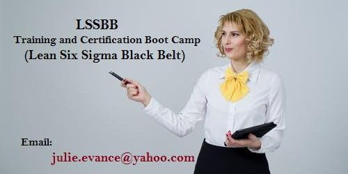 LSSBB Exam Prep Boot Camp training in Moncton, NB