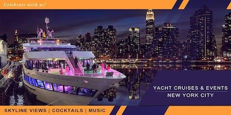 YACHT CRUISE PARTY AROUND NEW YORK CITY