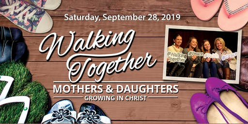 Mother-Daughter Event, Walking Together