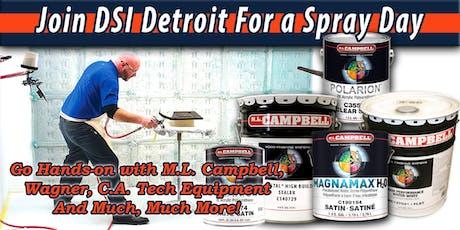 DSI Detroit Spray Day tickets