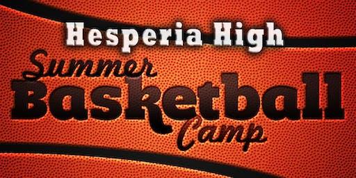 Hesperia High Summer Basketball Camp
