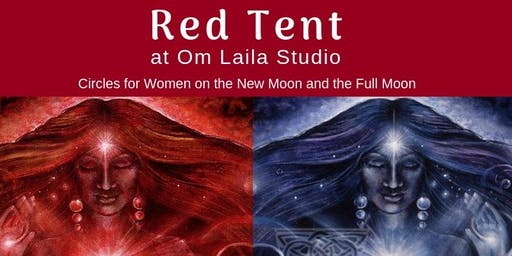 Red Tent at Om Laila Studio