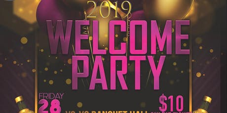 Congo Festival 2019 Welcome Party  tickets
