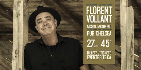Florent Vollant, Mishta Meshkenu tickets