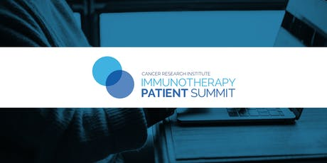 CRI Immunotherapy Patient Summit - Live Stream tickets