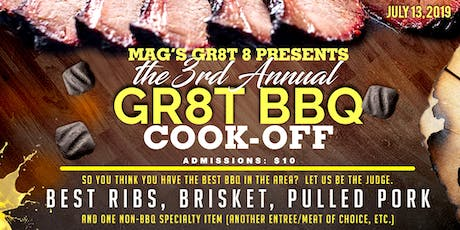 3rd Annual GR8T BBQ Cook-Off tickets