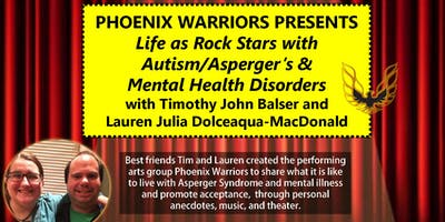 Life as Rock Stars with Autism/Asperger's & Mental Health Disorders