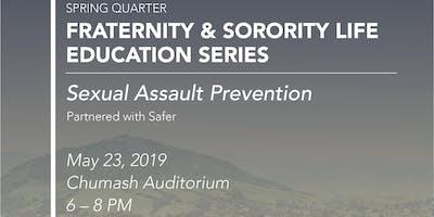 FSL Spring Fraternity Safer Training #2
