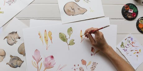 Watercolour Illustration Workshop tickets