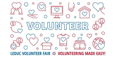 Leduc Volunteer Fair 2019