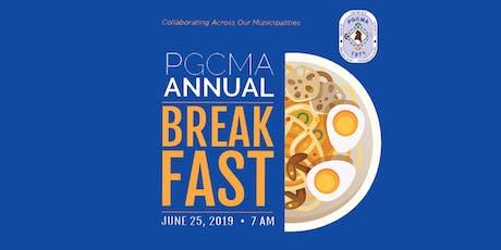 PGCMA 2019 Legislative Breakfast tickets