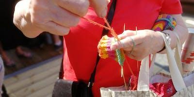 Knit in Public Day - Cradley Heath Arts Festival