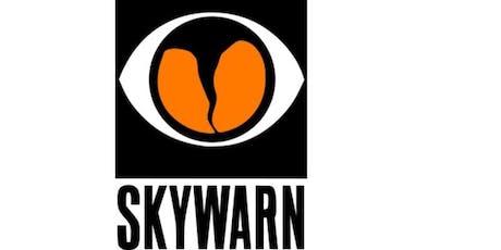 SKYWARN Advanced Training Registration - 08/24/19 Rockledge tickets