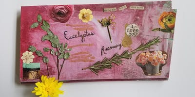 Spring Pressed Flower Wall Art Class at Creative Learning Lab