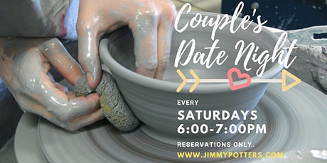 Copy of Couple's Date Night Pottery wheel  tickets