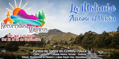 La Malinche (Ascenso al volcán) entradas