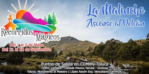 La Malinche (Ascenso al volcán)