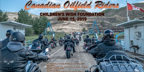 Canadian Oilfield Riders Ride Supporting The Children's Wish Foundation tickets