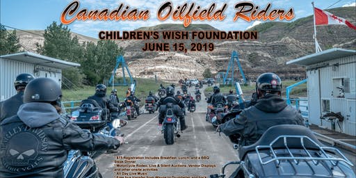 Canadian Oilfield Riders Ride Supporting The Children's Wish Foundation